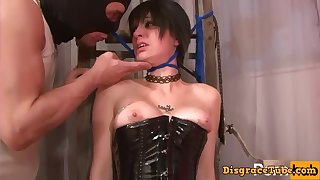 kinky french slut BDSM porn video