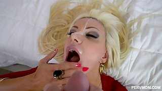 Cheating husband fucked his best friend Brittany Andrews in his home