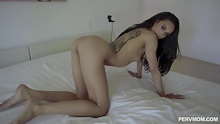 Challenge drives whole dick take skinny babe's warm cunt