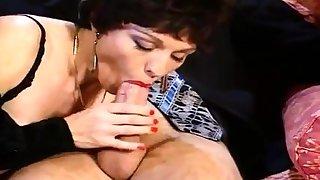 Vintage brunette riding cock Vidway